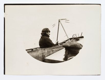 Lucien Loth (1885-1978)  Louis Blériot, deux...