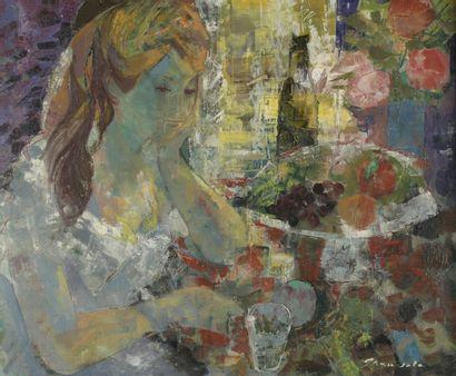Emilio GRAU-SALA (1911-1975)  Jeune femme...