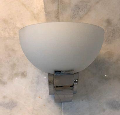 ATELIER PERZEL  Two wall lights n°347 BV...