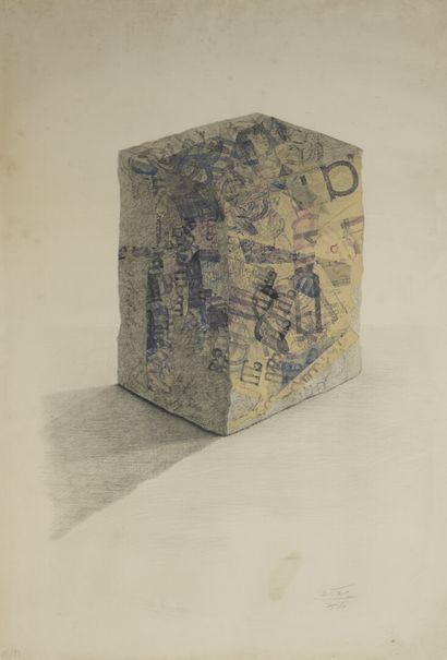 CÉSAR (1921-1998)  Compression  Lithographie...