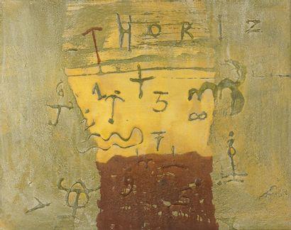Richar TEXIER (né en 1955)  Thoriz, 1992...
