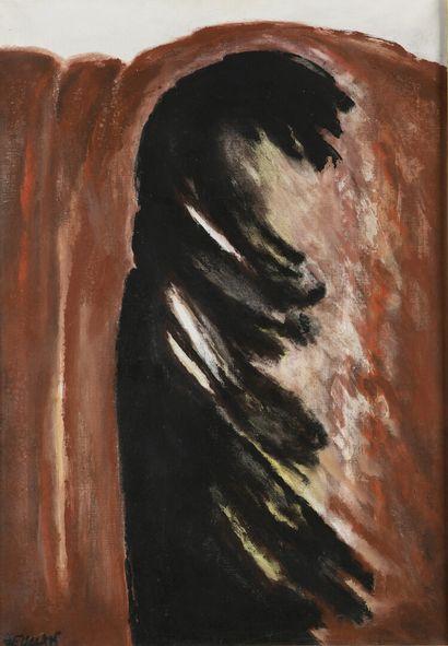 Robert HELMAN (1910-1990)  Composition abstraite...