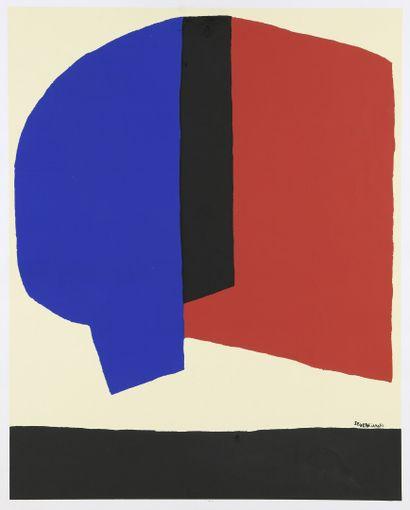 Serge POLIAKOFF (1900-1969)  [Composition...