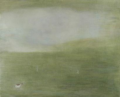 Geoffrey HOLDER (1930-2014)  Dans la prairie...