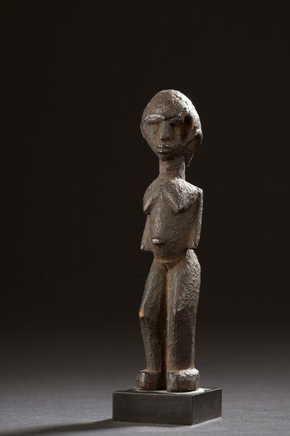 Statuette Lobi, Burkina Faso  Bois à patine...