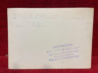 Agence ROL (act. 1904-1937)  Lefevre, Bétheny, Esnault-Pelterie, Paulhan  Semaine...