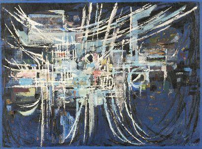 Edgard PILLET (1912-1996)  Feria  Huile sur...