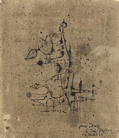 Johnny FRIEDLAENDER (1912-1992)  Oiseaux...