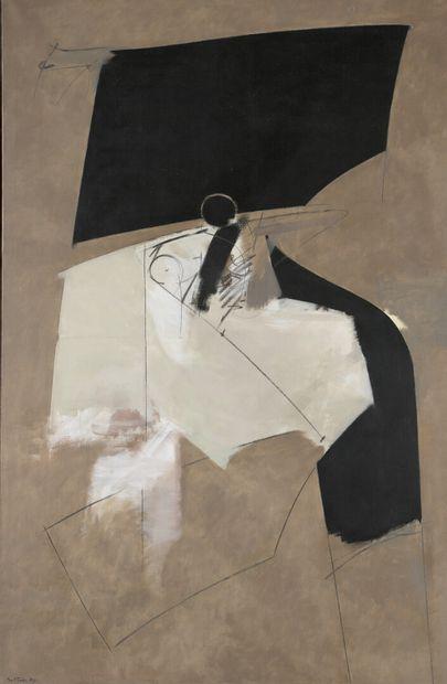 Albert BITRAN (1929-2018)  Intérieur-Extérieur...