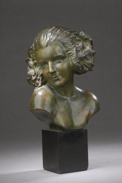 Maxime REAL DEL SARTE (1888-1954)  Buste...