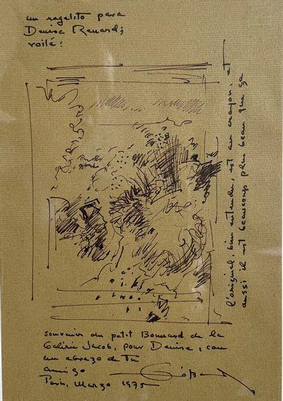Fernando ZOBEL DE AYALA (1924-1984) Interprétation...