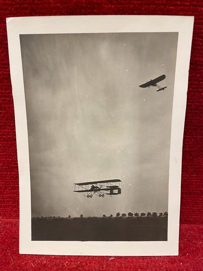 Lucien LOTH (1885-1978)  Meeting aérien, courses de plusieurs aéronefs (avions,...