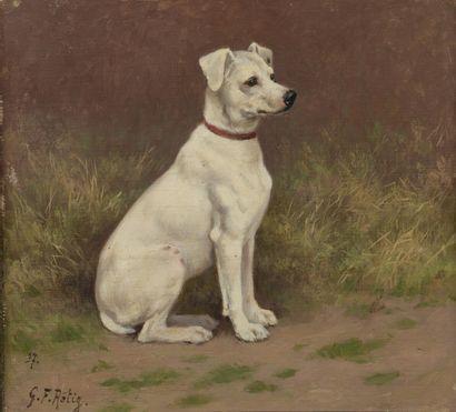Georges Frédéric RÖTIG (1873-1961)  Fox Terrier...