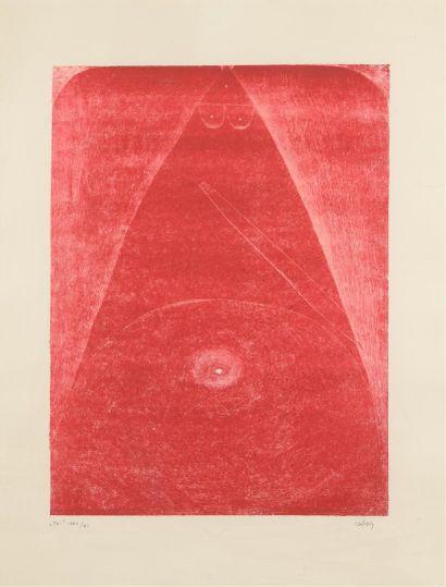 Pierre SZEKELY (1923-2001)  Toi, 1986/1987...