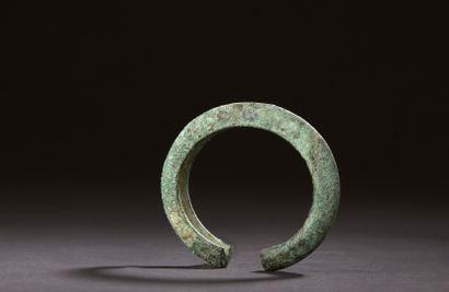 Bracelet Djenné, Mali (?)  Alliage de cuivre...
