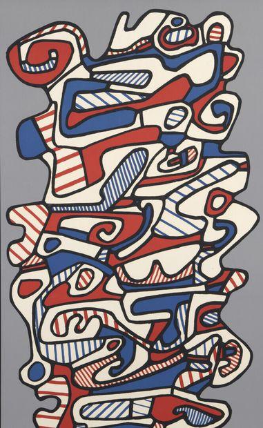 Jean DUBUFFET (1901-1985) (d'après)  Composition...