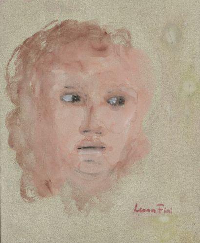 Leonor FINI (1907-1996)  Portrait de femme...