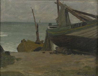 Jean-Pierre LAURENS (1875-1932)  Les Bateaux...