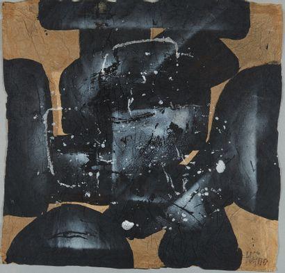 Ladislas KIJNO (1921-2012)  Composition  Huile...