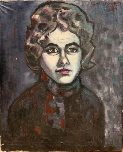 MAKY (actif au XXe siècle)  Portrait de femme...