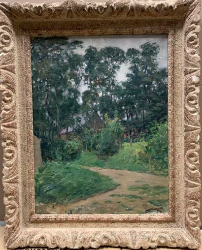 Lucien Hector JONAS (1880-1947)  Chemin vers...