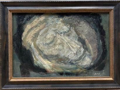Paul RAMBIÉ (né en 1919)  Tête de Christ...