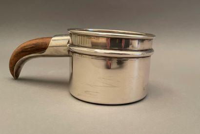 Small silver boullie pot 800 thousandth,...