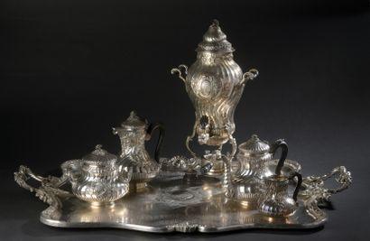 Silver tea and coffee service (950), model...