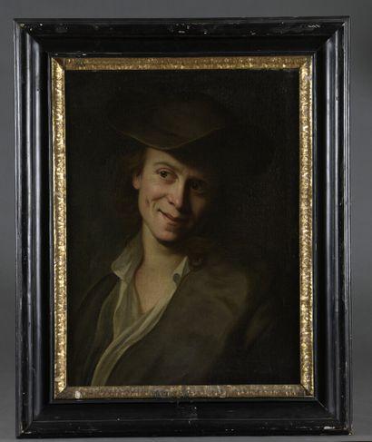 Christian SEYBOLD (Neuenhain 1695 - Vienne 1768)  Portrait d'un jeune homme  Toile....