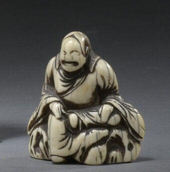 JAPON - Époque EDO (1603 - 1868), XVIIIe...