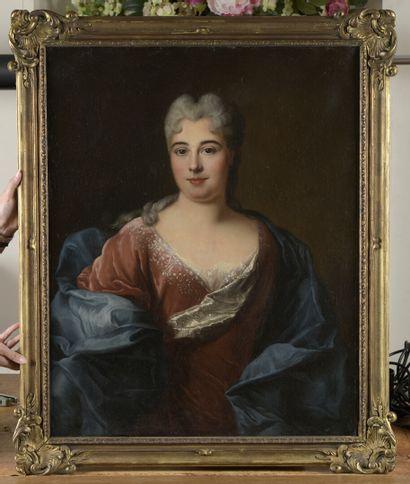 École FRANÇAISE du XVIIIe siècle,  suiveur de François de TROY  Portrait de femmes...