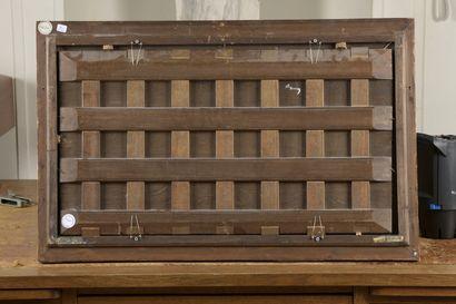 École FLAMANDE vers 1560, atelier de Martin van CLEVE Le lit nuptial Panneau de...
