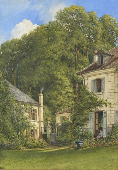 William WYLD (Londres 1806 - Paris 1889)...