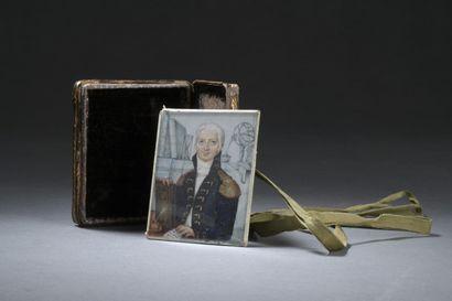 École ALLEMANDE du XVIIIe siècle  Portrait...