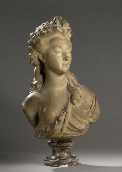 D'après Jean-Jacques CAFFIERI  (1724-1792)...