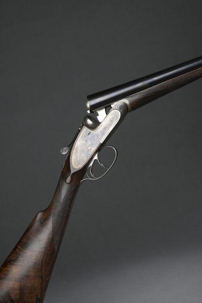 Fusil Purdey juxtaposé à platines, calibre...