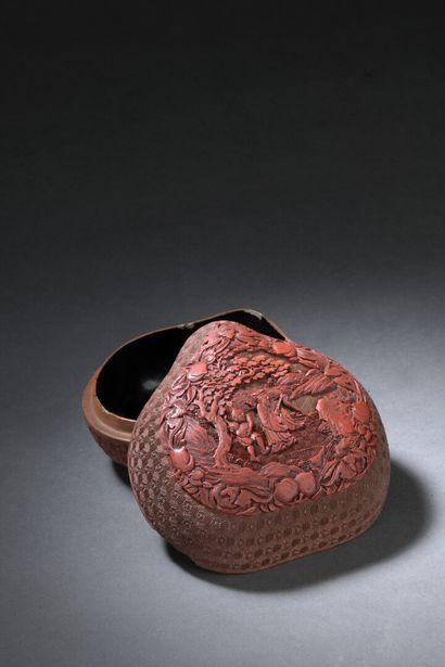 CHINE - Fin de l'époque QIANLONG (1736 -...