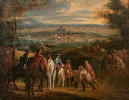 Ecole FRANCAISE vers 1700, suiveur de Adam...