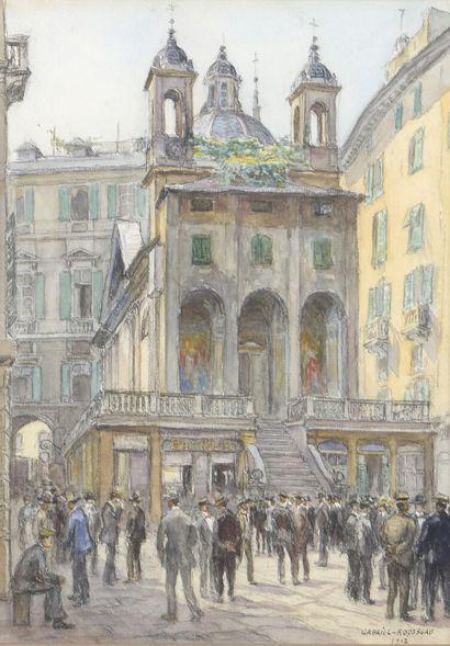 Gabriel ROUSSEAU  (Lyon 1876 - Issy les Moulineaux...