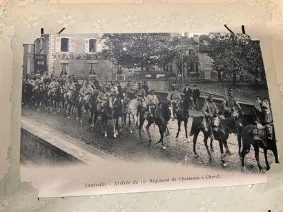 Un album de cartes postales de la Lorraine...