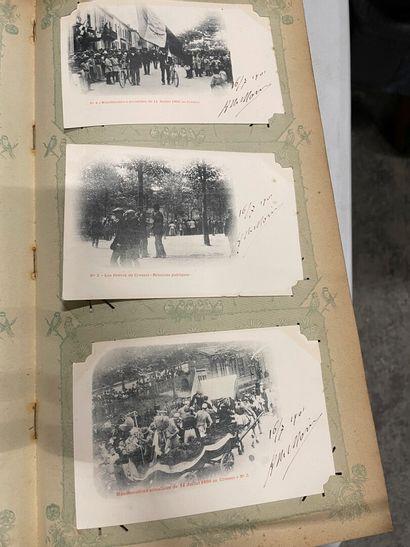 Un album de cartes postales de diverses régions...