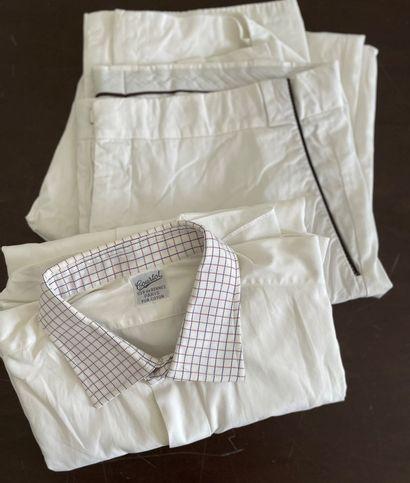 HERMES, COURTOT  Lot composé d'un pantalon...