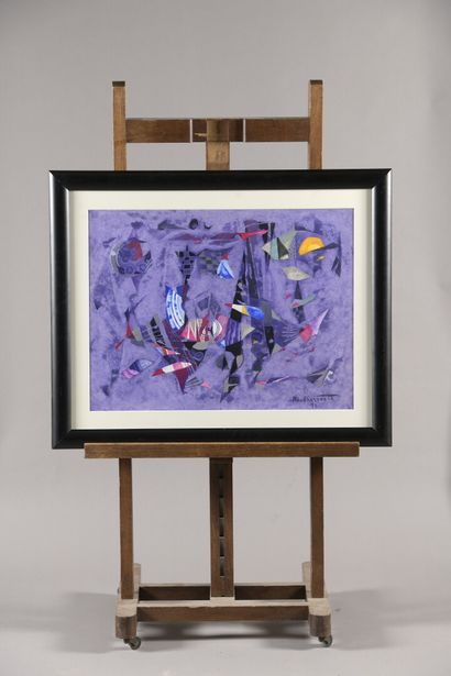 BERROETA Pierre de (1914-2004)  Composition...