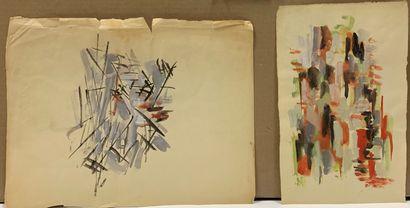 DALMBERT Daniel (né en 1918)  Composition...