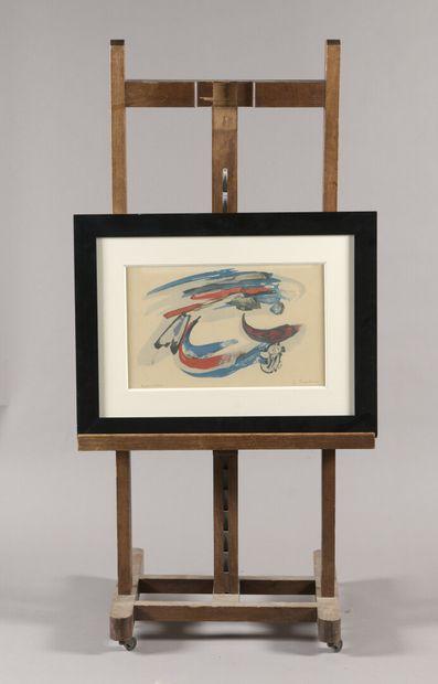PICHETTE James (1920-1996) Composition Lithographie...