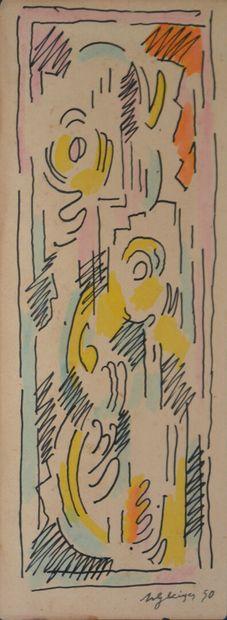 Albert GLEIZES  (Paris 1881 1953 Avignon)...