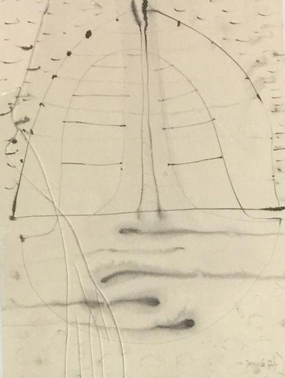 Frantisek JANULA (1932)  Compositions abstraites...