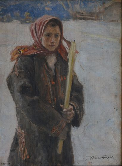 Teodor AXENTOWICZ (Brasov 1850 – 1938 Cracovie)...