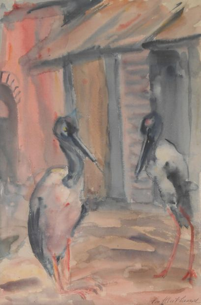 Lou ALBERT-LAZARD (Metz 1865 1969 Paris)...