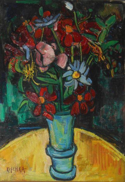 Isis KISCHKA  (Paris 1908 1974 Paris)  Bouquet...
